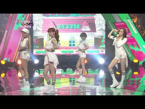 130719 BESTie - Pitapat @ Music Bank [1080p] (видео)