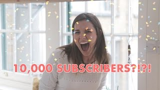 10,000 YOUTUBE SUBSCRIBERS?!?! by Katie Pix