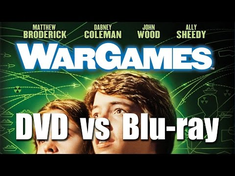 War Games DVD Vs Blu-ray Split Screen Comparison