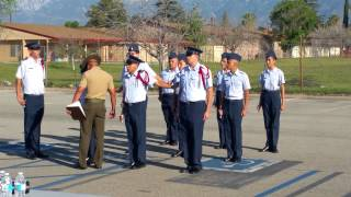 Nephews JROTC SABER Drill Team competition