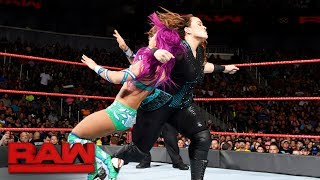 The Boss takes on the imposing Nia Jax in the latest chapter of their heated rivalry. #RAW More ACTION on WWE NETWORK ...