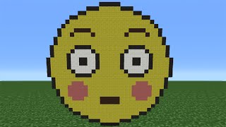 Minecraft Tutorial: How To Make An Embarrassed Emoji