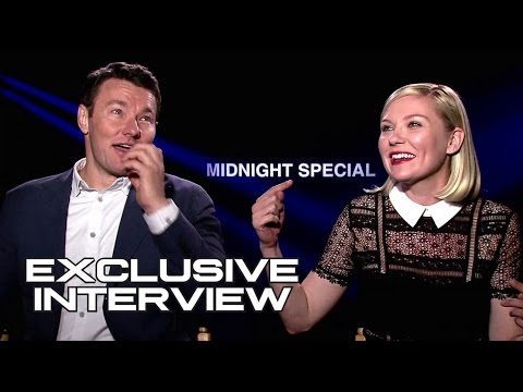 Joel Edgerton & Kirsten Dunst Exclusive Interview for MIDNIGHT SPECIAL (видео)
