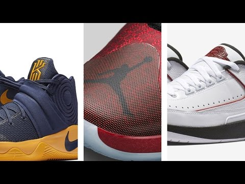 "Kyrie 2 ""Cavs, Jordan 12 ""UNC"", Jordan XXX and more on  Heat Check"