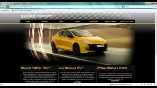 MSN Home Page Take Over   Renault