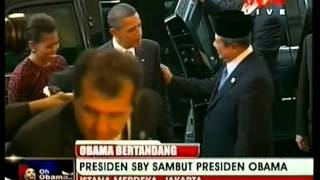 Video Tv One   Kedatangan Presiden Obama ke Indonesia, November 2010 MP3, 3GP, MP4, WEBM, AVI, FLV Mei 2019