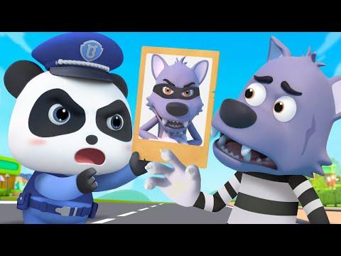 Panda KIKI Atrapa al Ladrón   Dibujos Animados Infantiles   Kiki y Sus Amigos   BabyBus Español