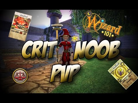 Wizard101 Low Level PvP Episode Four: The Critical Noob at it again!!
