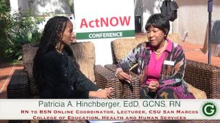 Patricia A Hinchberger, EdD, GCNS, RN Interview