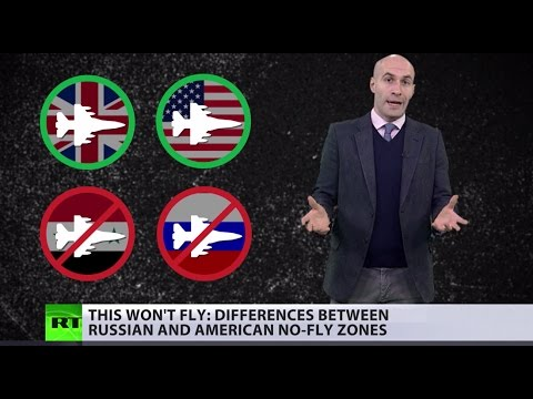 Difference between Russian 'no-fly' & US 'we fly/you don't' zones