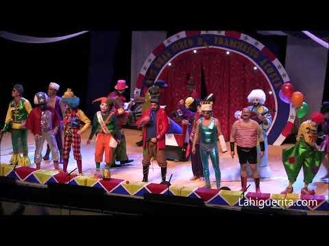Murga de Isla Cristina El gran circo de Franchesco Acosta Domador de Langosta