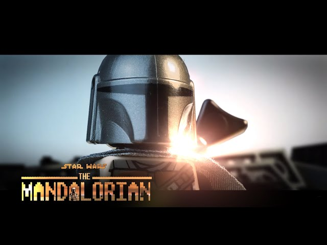 LEGO Star Wars: The MANDALORIAN - Official Trailer Stop Motion