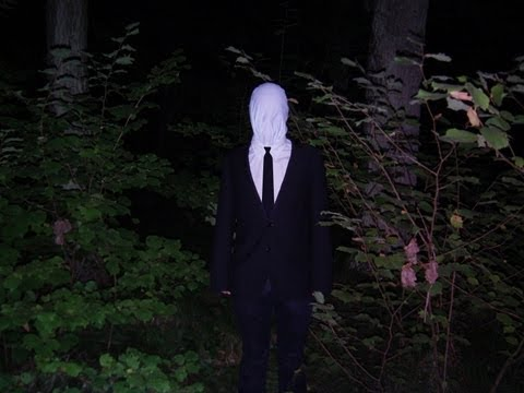 how to play slender man game in real life