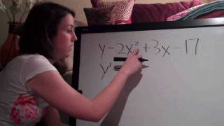 Basic Derivatives Example 1