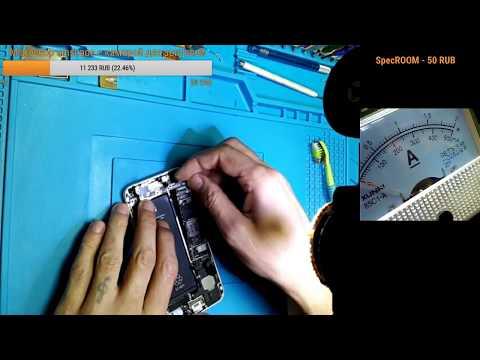 iphone 6 пересадка на донор CPU NAND MODEM eeprom часть 3