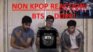 Video NON KPOP FANS REACT | BTS - DOPE | HOW CAN YOU BE THIS GOOD!! MP3, 3GP, MP4, WEBM, AVI, FLV Juni 2018