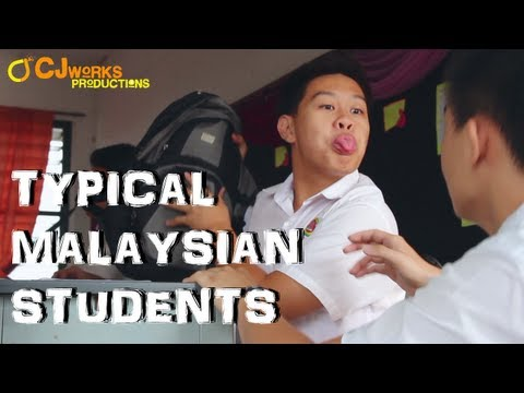 Malaysian - Most of us had been on the journey of being a student, but what are the funny characters that we could spot in Malaysian Students Life? :) REMEMBER TO LIKE, ...