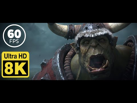Warcraft III: Reforged Cinematic Trailer 8K 60 FPS (Upscale with Machine Learning AI)