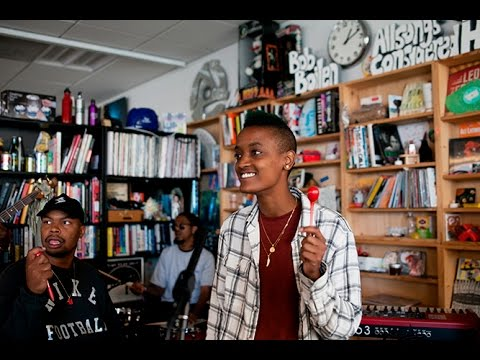The Internet: NPR Music Tiny Desk Concert (видео)