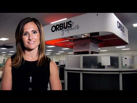 ORBUS DOUBLES GRAPHIC PRINT CAPABILITY