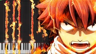 Main Theme - Fairy Tail [Piano Tutorial] Ноты и МИДИ (MIDI) можем выслать Вам (Sheet music for piano