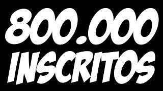 800.000 Inscritos! Novembro Dos Games E Minecraft