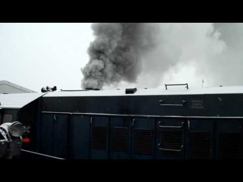 Cold Start Diesel Locomotive