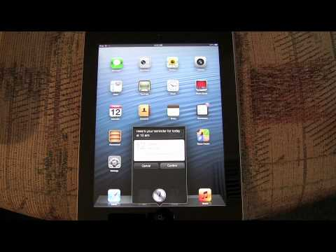 iPad ios6 features