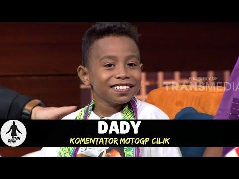 DADY, KOMENTATOR MOTOGP CILIK | HITAM PUTIH (06/03/18) 2-4