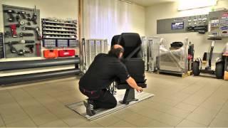Podlahový systém M1 + Multifunkční sedadla 000 demo ukázka