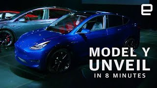 Tesla Model Y Unveil in 8 minutes