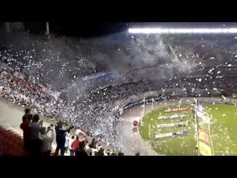 Video - RECIBIMIENTO INCREIBLE - River Plate vs Newell´s - Torneo Final 2014 - Los Borrachos del Tablón - River Plate - Argentina