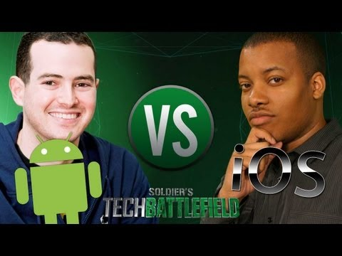 Rettinger - This week we have special guest Jon Rettinger of TechnoBuffalo. The two square off in a battle of iOS vs Android. Who wins? And Why? Mark's Soldier Knows Bes...
