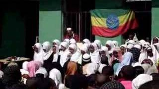Ethiopian Children Singing Nasheed