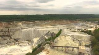 Cockeysville (MD) United States  city photo : Drone Flight over Texas Quarry | Cockeysville, MD