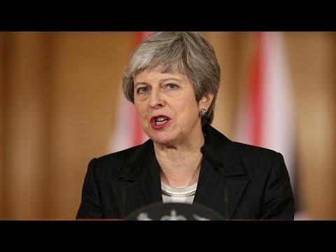 Επίθεση Μέι κατά του κοινοβουλίου με τηλεοπτικό διάγγελμα…