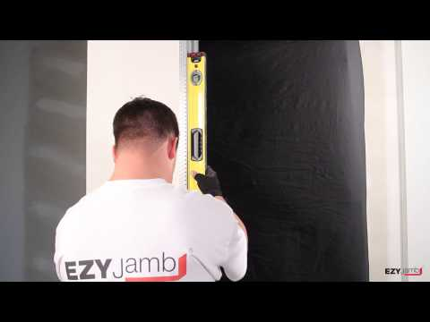 Ezyjamb Installation - The Ezy Jamb system