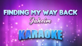Jaheim - Finding My Way Back (Karaoke version with Lyrics)
