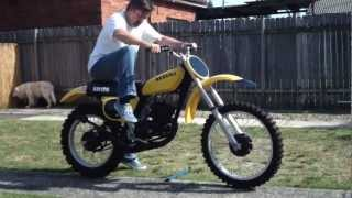 10. Suzuki RM125S 1975