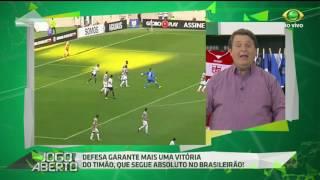 O jornalista fica impressionado com a atuação da equipe do técnico Fábio Carille e afirma que o Coringão está próximo de conquistar o título do Brasileirão de 2017.