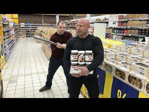 Что съесть чтобы ПОХУДЕТЬ  Выбираем Правильные продукты и КОШМАРИМ супермаркет / ЧАСТЬ-1 - DomaVideo.Ru