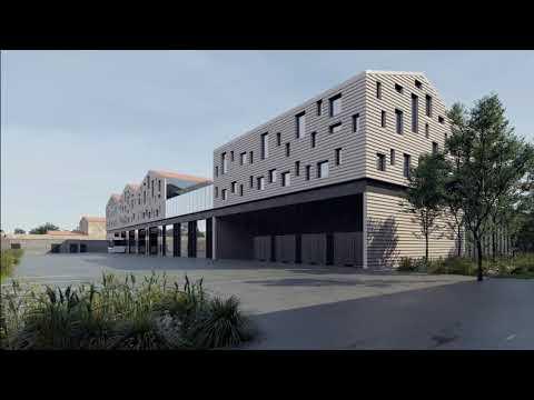 Architecte stades / Agence Architecture sport : Dépôt de bus Lescure