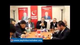 Saadet Zeytinburnuİlçe Başkanlığı Bayramın 3  Günü Bayramlaştı