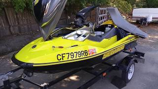 10. 2004 Seadoo RXP fuel filter replacement ( Fuel pump removal )