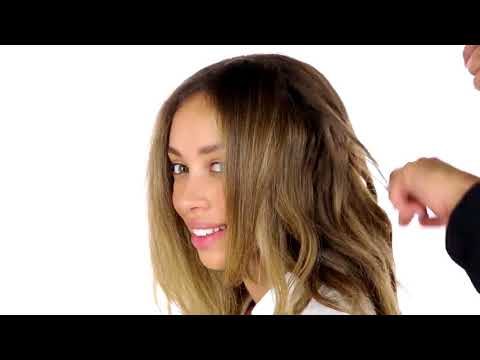 How To: Beach Waves for Curly Hair