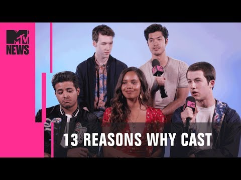 '13 Reasons Why' Cast Discuss Season 2 & Exploring Their Characters | MTV News (видео)