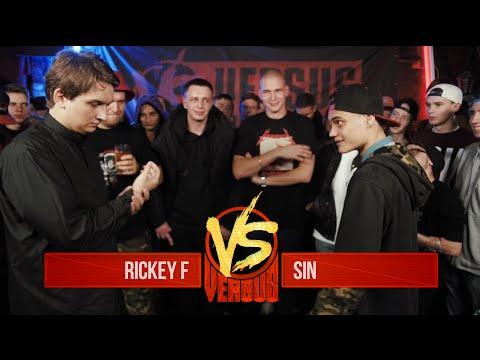 VERSUS: FRESH BLOOD 2 (Rickey F VS Sin) Round 1 (видео)