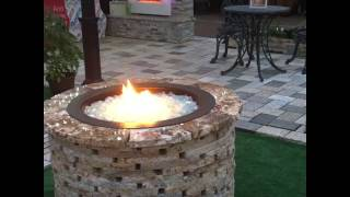 Debuting The Spark Gas Fire Pit Kit