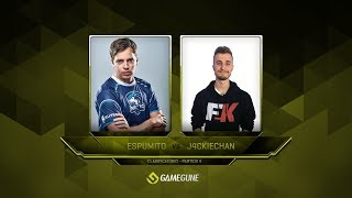 espumito vs J4CKIECHAN, game 1