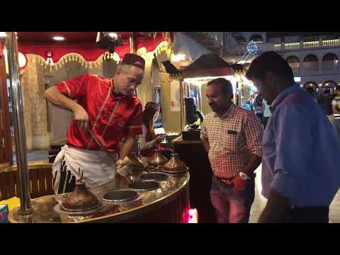 Funny Turkish Ice Cream Seller In Souq Waqif  | Doha Qatar